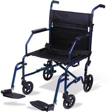 Health Transport Wheelchair Portable Wheelchair Transport Chair
