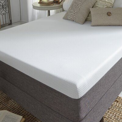 Alwyn Home Roanoke 10 Medium Gel Memory Foam Mattress And Box Spring Mattress Size Twin Xl In 2020 Mattress Bed