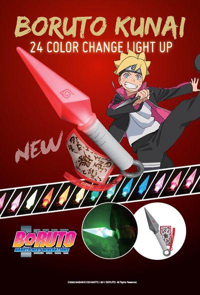 Crunchyroll - Boruto 24 Color Change Light Up Kunai - Boruto