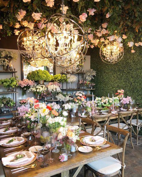 Flowers Secret Dinner Party Series