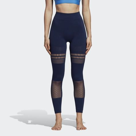 677dad5d33b1 Yoga Warpknit Tights Blue M Womens