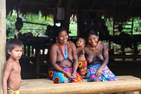 En visite chez les Embera / A day with the Embera people | parc national de Chagres, Panama
