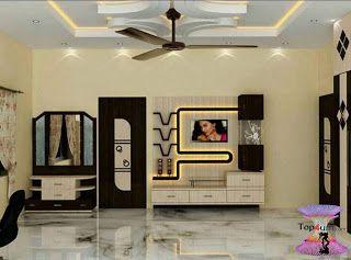 افضل ديكورات جبس اسقف راقيه 2019 Modern Gypsum Board For Walls And Ceilings Tv Lounge Design Tv Unit Design Wall Unit Designs