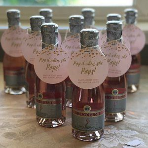Baby Shower Favors Girl Baby Shower Favors Baby Shower Girl Pink Baby Shower Pop It When She Pops Champagne Party Favors Personalized Sianas baby shower
