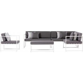 Kulmasohvaryhma Sensum Skepparholmen Valkoinen Bauhaus Coffee Table Sectional Couch Home Decor