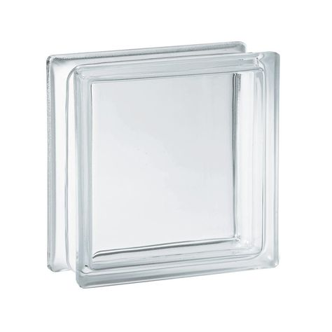 Clearly Secure 5 75 In X 5 75 In X 3 12 In Clear Pattern Glass
