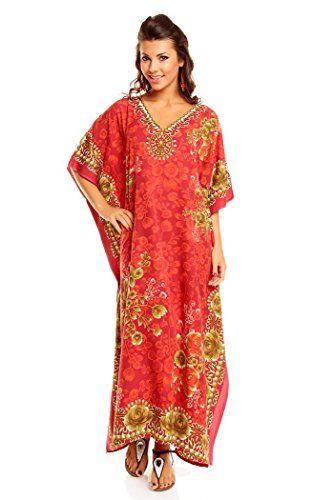 prix d'usine c93b6 492fa Neuf Femmes Surdimensionné Maxi Kimono Tunique Caftan Robe ...