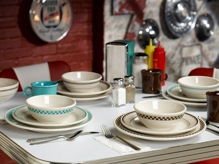 Homer Laughlin Classic Diner Mugs and Plates | Favorite Dishes ...