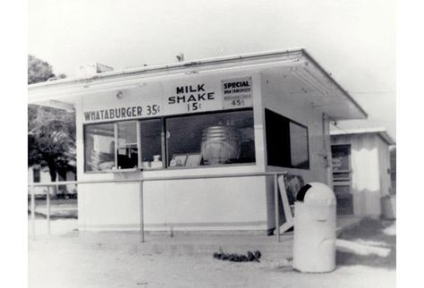 WHAT-A-BURGER opened 8/8/1950 when Harmon Dobson opened Whataburger #1 in Corpus Christi. The tiny burger stand offered something people had never seen: a burger so big, they had to hold its five-inch bun with 2 hands. An instant success, Harmon began to expand the business to other markets. By the end of the decade, Harmon would open Whataburger #21 in Pensacola, FL. The first Whataburger outside of TX.