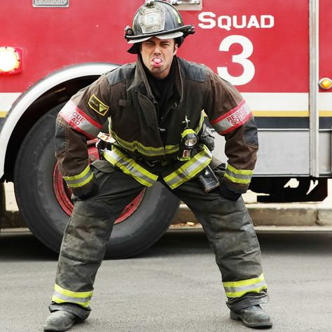 On September 23, our hearts ignite when Taylor Kinney and #ChicagoFire return to NBC.