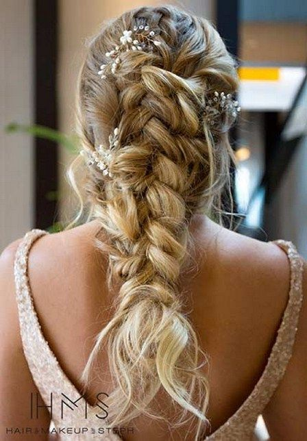 23 Romantic Wedding Hairstyles Braided Hairstyles Womens Hairstyles Wedding Hairstyles For Long Hair
