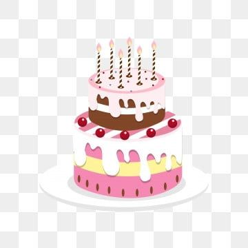 Cartoon Birthday Cake Cake Cupcake Hand Painted Birthday Cake Cake Clipart Cake Design Cake Greeting Card Png And Vector With Transparent Background For Free Creative Birthday Cakes Cartoon Birthday Cake Cake