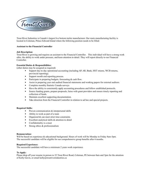 328 Best Weekly Splash Images On Pinterest The Ou0027jays   Assistant  Controller Job Description  Assistant Controller Job Description
