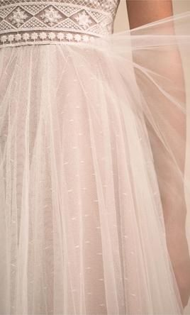 20 Off The Peg Wedding Dresses From Your Favourite Designers Alternative Wedding Dresses Wedding Dress Trends Silver Wedding Dress