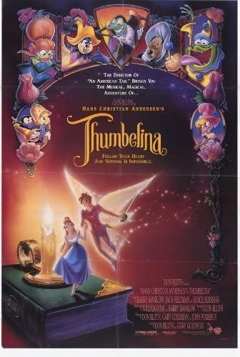 Pop Culture Graphics Thumbelina Poster Movie B 27x40
