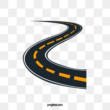 Decorative Elements Of Urban Roads Png And Vector Road Vector Road Trip Art Urban Road