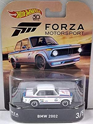 Bmw 2002 White Hot Wheels Hw Forza Motorsport Retro Series 1 64