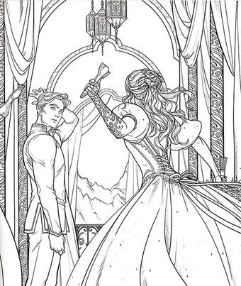 Rhysand Coloring Books Coloring Pages A Court Of Mist And Fury