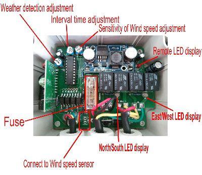 Dual Axis Solar Tracker Controller Box Diy Solar Power System Solar Tracker Solar Power Diy