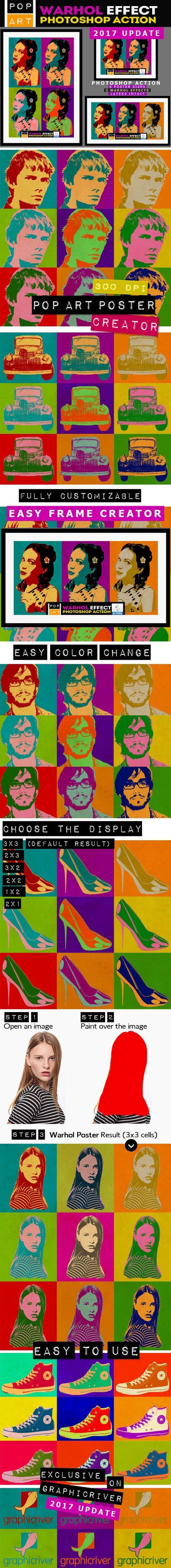 Pop Art Poster Maker - Warhol Effect