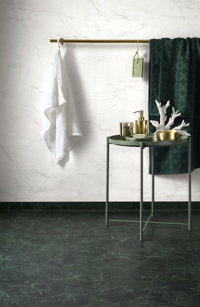 Royal Marble Green Gron Marmor Golv Gront Badrum Bathroom