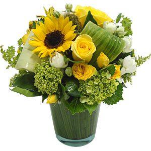 Flores Girassol Arranjos De Flores Ornamentos Centrais E