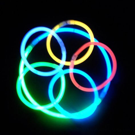 """1000 8/"""" Premium Glow Sticks Bracelet Necklaces Neon Party Light Christmas light"""