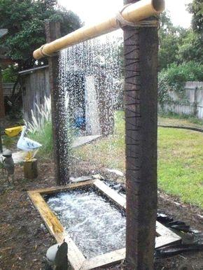 Pin By Shabrina Tamimi On Landscaping The Water Features Waterfalls Backyard Backyard Diy Backyard