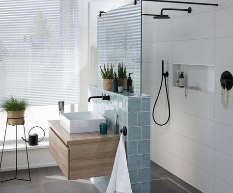 Badkamer Trends Tegels : Badkamertrends mix match met kleuren tegels badkamer