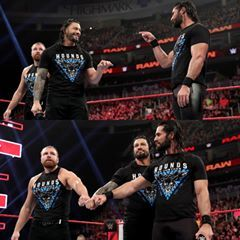 Image May Contain 5 People Roman Reigns People Fan Page