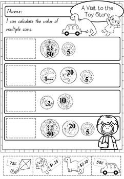 Australian Money Activity Worksheets Money Activities