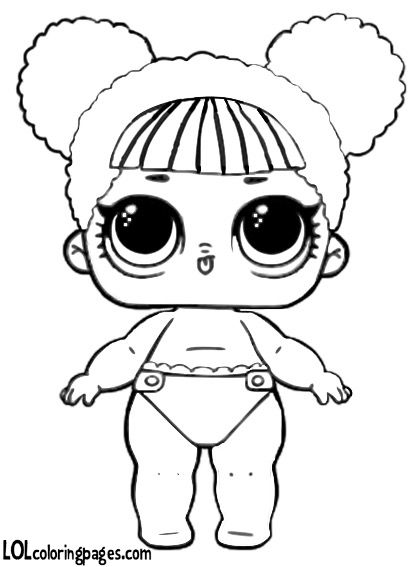 17++ Lol surprise dolls lil sisters coloring pages information