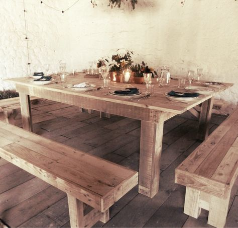 Farmhouse Table Wooden Trestle Table Table Rustic Table