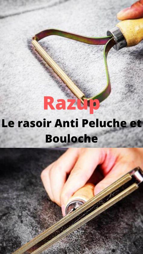 RAZUP™ RASOIR ANTI-PELUCHE