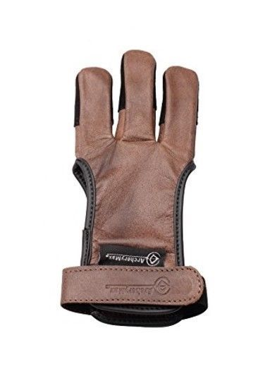 Toparchery Archery Hand Guard Protector Shooting Glove Black for Left Hand