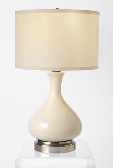 Bartlett Ivory Nickel Cordless Lamp Lamps Made In The Usa