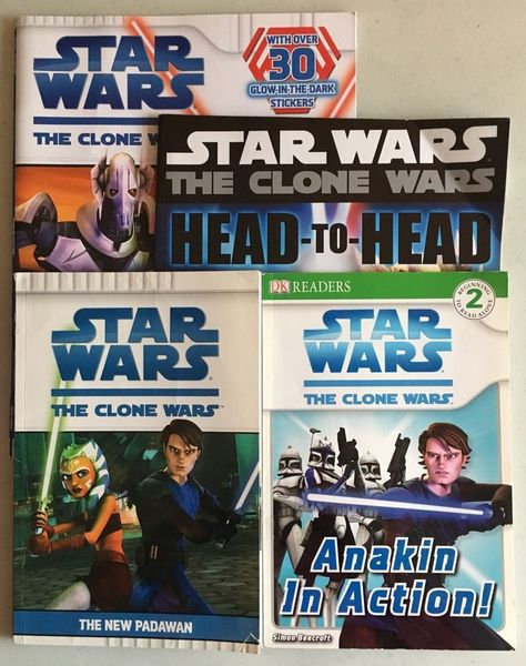 Star Wars Books  Activity and Readers