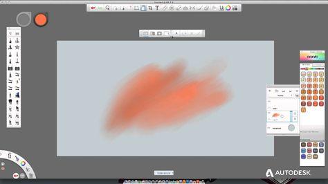 Autodesk Sketchbook Pro 7 Distort Selection Tool