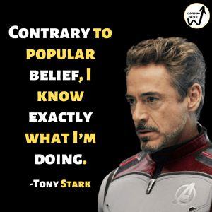 13 Heroic Quotes by Tony Stark aka Iron Man - Upgrading Oneself