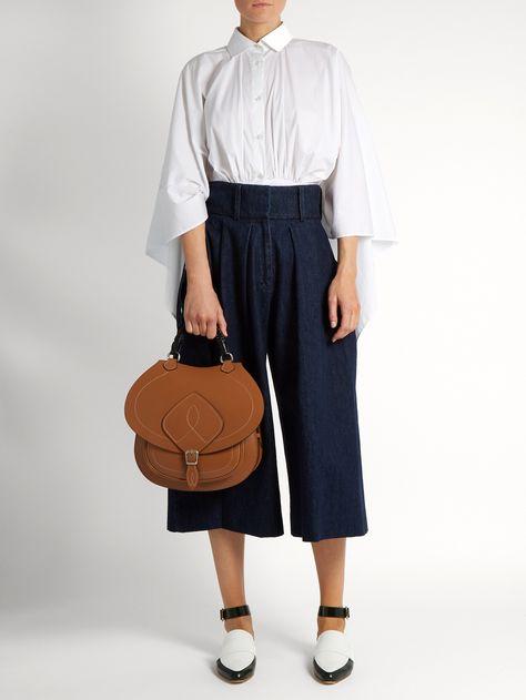 Saddle leather bag | Maison Margiela | MATCHESFASHION.COM US