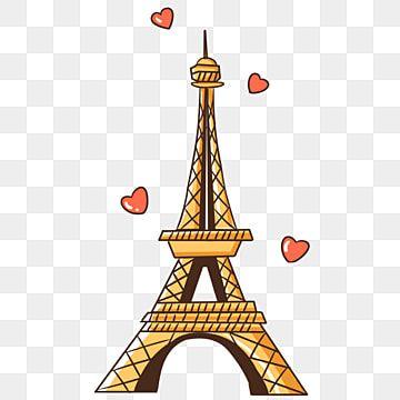 Paris Architecture Tower Famous Architecture Paris Arquitetura Torre Imagem Png E Psd Para Download Gratuito Eiffel Tower Illustration Famous Architecture Paris Architecture