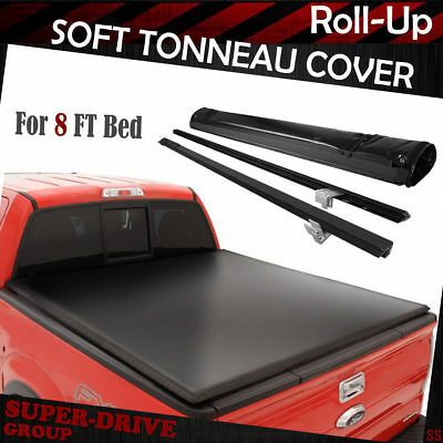 Sponsored Ebay Fit 1999 2019 Ford F 250 F 350 F 450 Super Duty Roll Up Tonneau Cover 8 Ft Long Tonneau Cover 2019 Ford F250