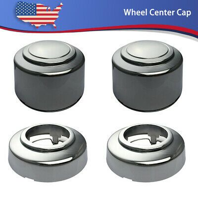 Ad Ebay 4pcs 16 Chrome Wheel Center Hub Cap Lug Nut Covers For 95 2008 Ford E 150 E 250 Chrome Wheels Hub Caps Van For Sale