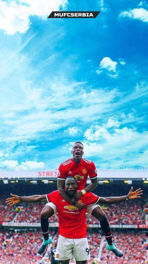 Pogba And Lukaku Man Utd Wallpaper Iphone Futbolgracioso Manchester United Wallpaper Manchester United Players Manchester United Fans