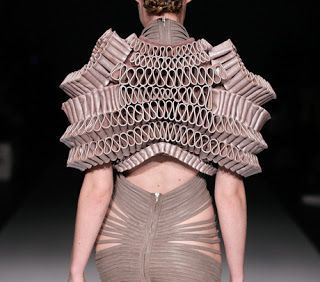 Hyperbolic Crochet Geometry Architecture And 3 D Printing In Fashion Design Favorite Fashion Designer Fashion Fashion Design