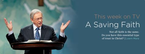 Intouch.org  A saving faith by Dr. Charles Stanley  4 kinds of faith      A. No Faith—(Mark 4:40).      B. Little Faith— (Matt. 6:30).      C. Great Faith— (Matt. 8:11)      D. Faith Failure— (Luke 22:31-32)      A. Our faith grows as we study the Word, listening for His guidance through the Scriptures.      B. It is also strengthened when we face and overcome struggles. God uses tests for our good and to make us more capable servants.