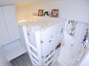 狭い子供部屋のリフォーム実例5つ 3畳でも快適レイアウト 狭い 子供部屋 インテリア 家具 子供部屋