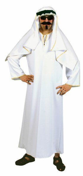Brand New Middle East Chic Sheik Adult Costume