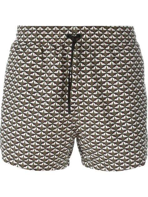 FENDI 'Monster Eyes' Print Swim Shorts. #fendi #cloth #shorts