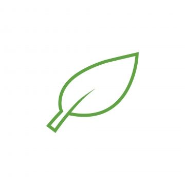 Green Leaf Icon Graphic Design Template Vector Leaf Icon Logo